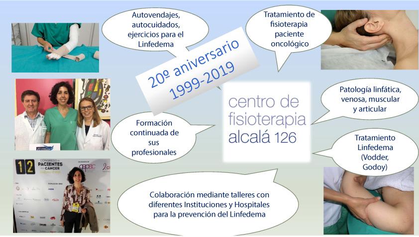 Centro de Fisioterapia Alcalá cumple 20 años